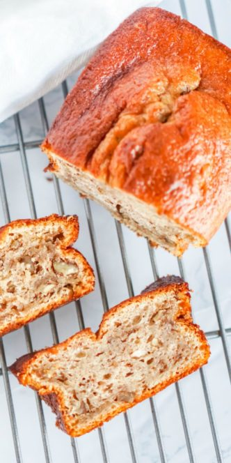 Homemade Moist Banana Bread Recipe