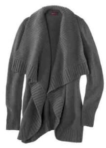 Chunky Cardigan Sweater