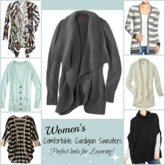 Comfortable Cardigan Sweaters