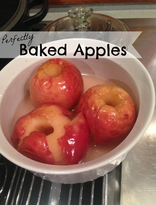 Perfectly Baked Apples