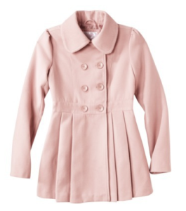 Light Pink Wool Coat