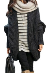 Knit Wrap Cardigan