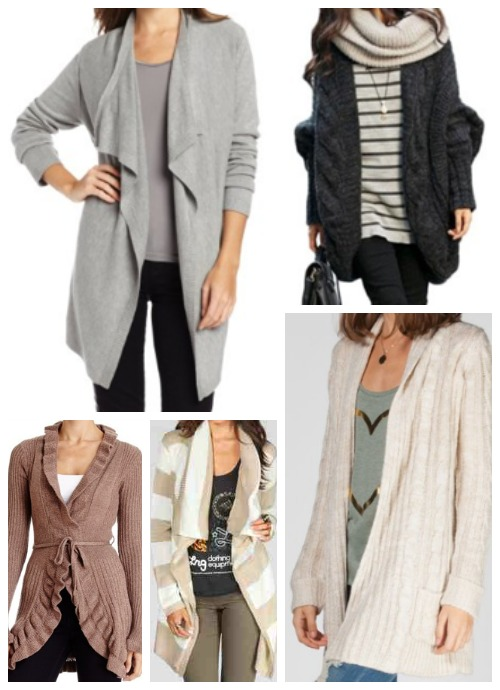 Long Cardigan Wrap Sweaters