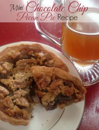 Mini Chocolate Chip Pecan Pie Recipe