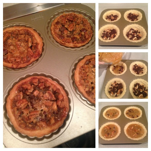 Mini Chocolate Chip Pecan Pie Recipe Baking