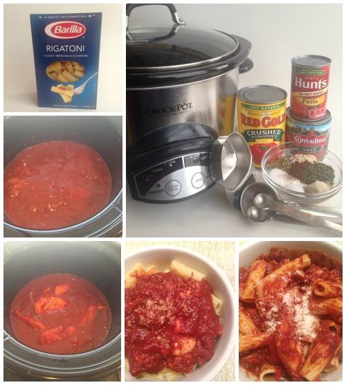 Crockpot Chicken Rigatoni Recipe Ingredients