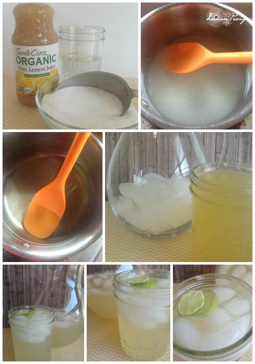 Easy Homemade Lemonade Ingredients