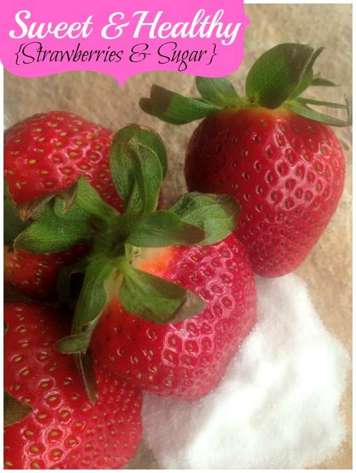 Sweet & Healthy Strawberry Snack