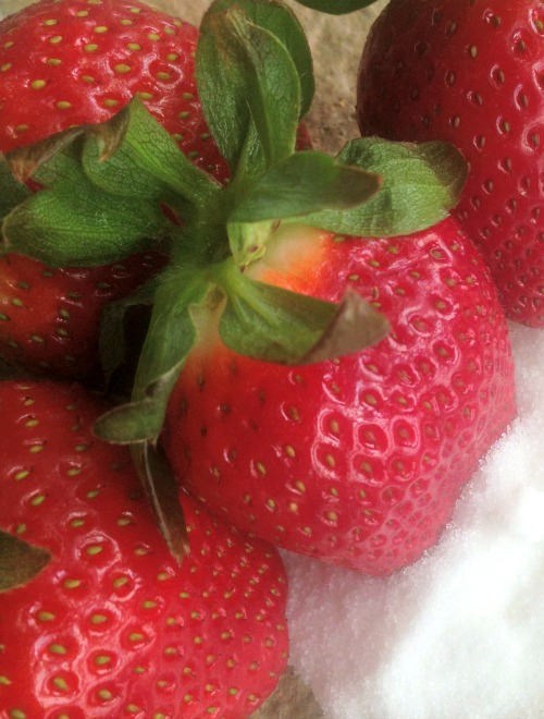 Sweet & Healthy Strawberry Snack2