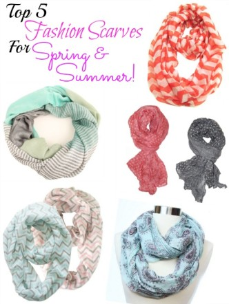 Top 5 Spring Fashion Scarves