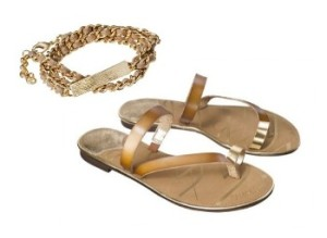 Gold Summer Accessoires