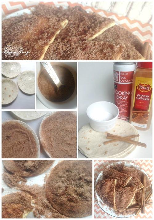 Baked Cinnamon Crisps