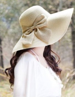 85067ef9c47a6 Here is another Wide Brim Straw Hat with Bow for only  10.96 + Free  Shipping! I love these hats with the cute bows on them. I think they make  them just a ...