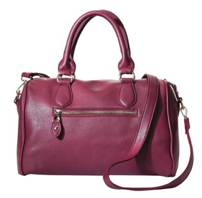 Burgandy Satchel
