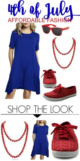 255435904d8 Casual Summer Outfit for the 4th of July!