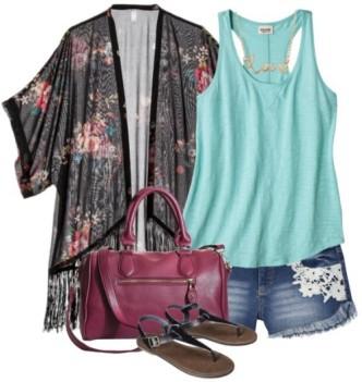 Floral Kimono Jackets