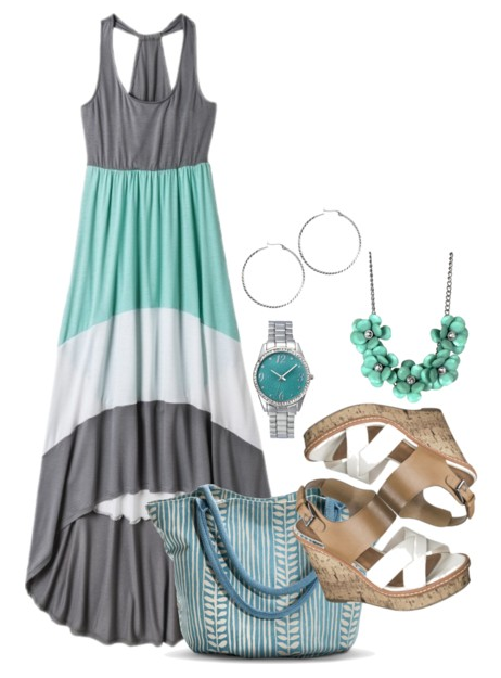 Mint Green Summer Outfit
