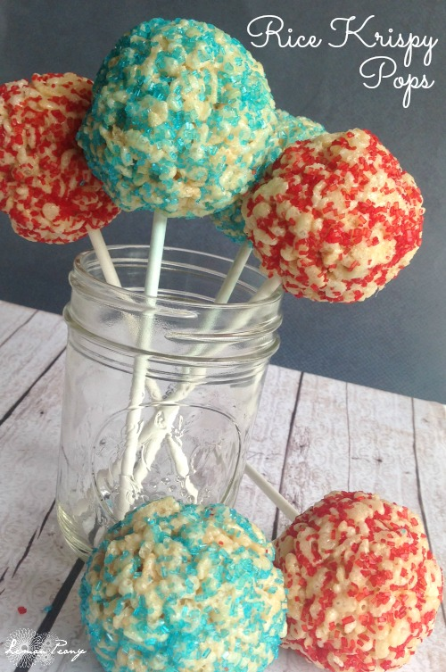 Rice Krispy Pops Recipe