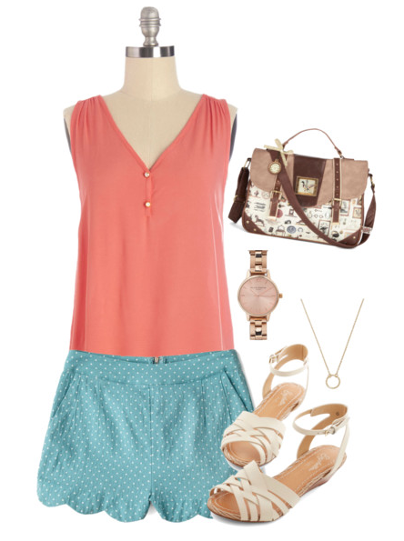 Vintage Summer Outfit