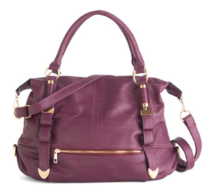 Purple Tote Handbag