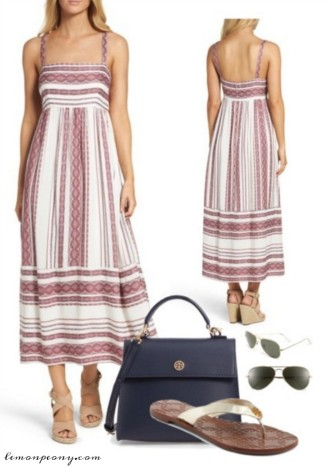 Summer Maxi Dress Outfit