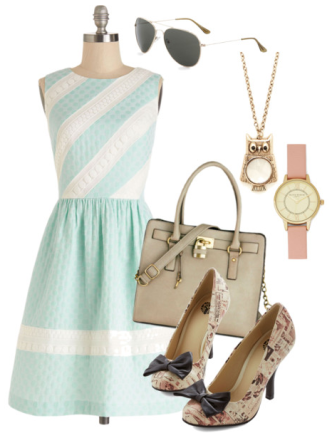 Vintage Summer Accessories and Shoes