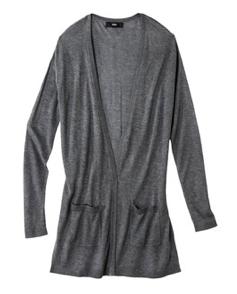 Grey Target Sweater