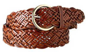 Ladies Brown Belt