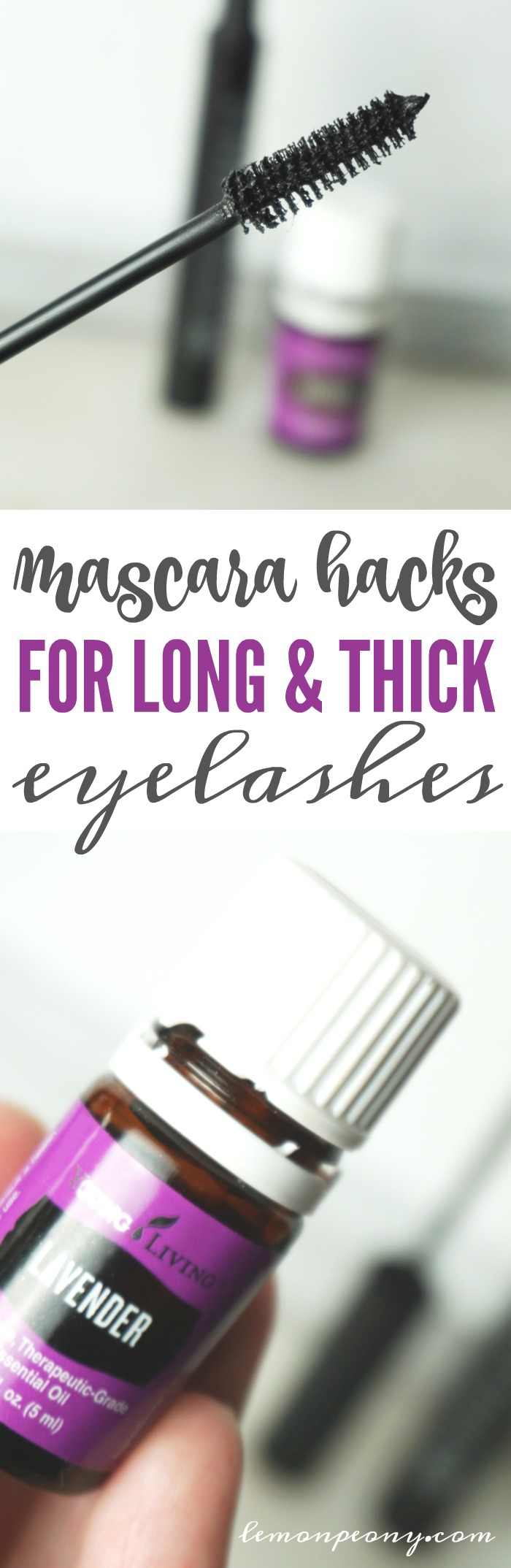 Mascara Hacks for Long and Thick Eyelashes
