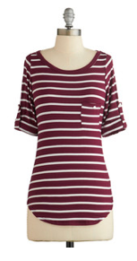 Stripe Zone Top