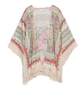 Vintage Flower Kimono Jacket