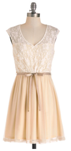 White Haute Cocoa Dress