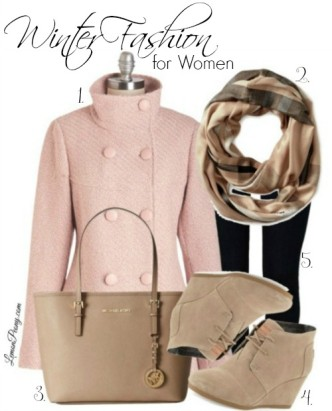 Cute Pastel Outfit for Winter
