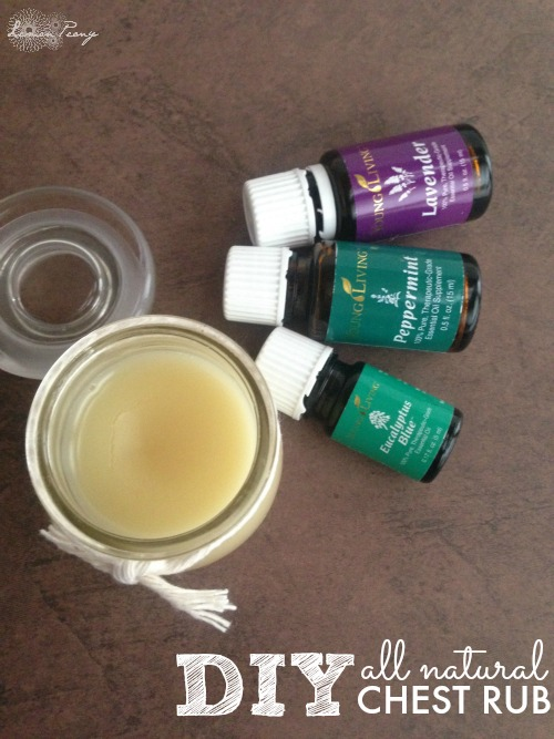 DIY All Natural Chest Rub