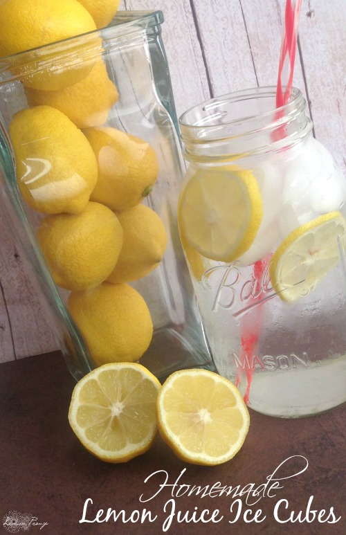 DIY Lemon Juice