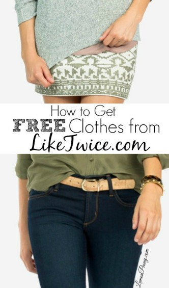 How to Get Free Clothes from LikeTwice.com