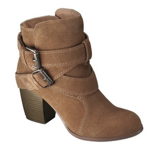 Suede Strappy Boots