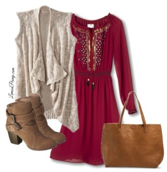 Target Dresses and Boots