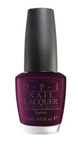 Black Cherry Chutney OPI Nail Polish