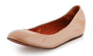 Lanvin Patent Leather Ballerina Flat