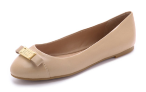 Marc Jacobs Nude Flats