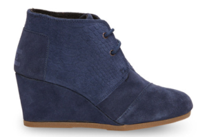 Toms Navy Booties
