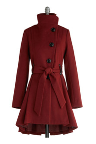 Cranberry Winter Coat