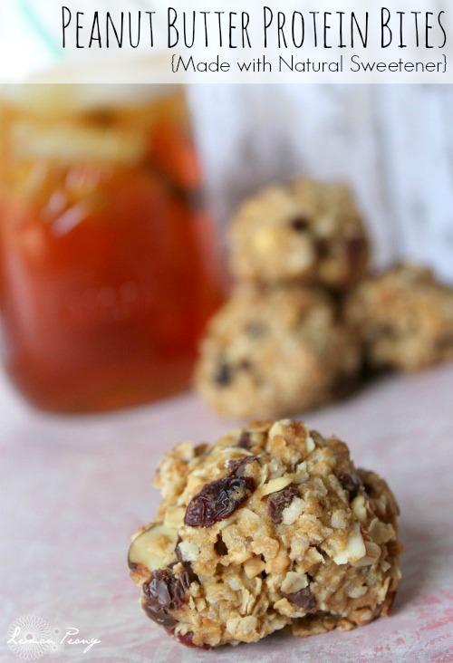 Peanut Butter Protein Bites Recipe
