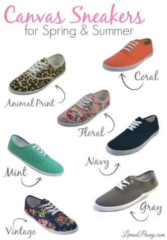 Cheap Canvas Sneakers