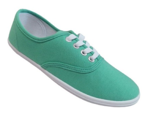 Mint Canvas Shoes