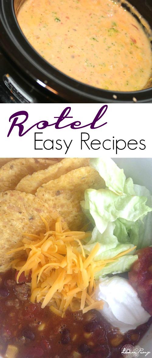 Easy Rotel Recipes