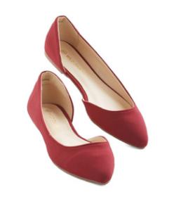 Vintage Red Ballet Flats