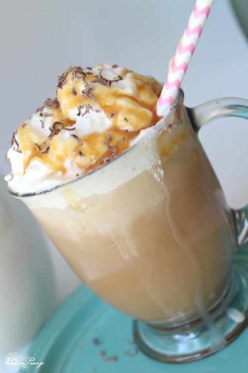 Easy Iced Caramel Coffee Homemade Recipe