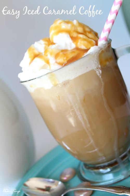 Easy Iced Caramel Coffee